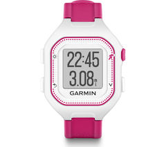 GARMIN Forerunner 25 GPS Running Watch - Small, Pink & White