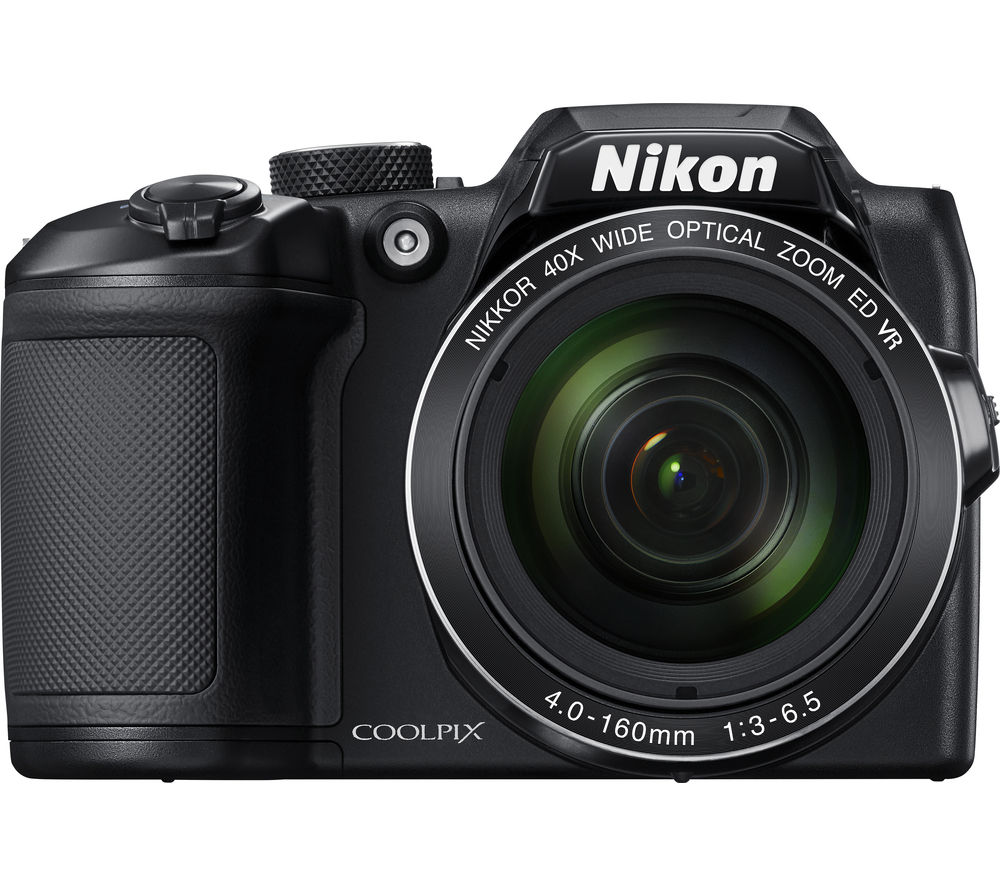 NIKON COOLPIX B500 Bridge Camera - Black + Extreme Plus Ultra Performance Class 10 SD Memory Card - 32 GB, Twin Pack