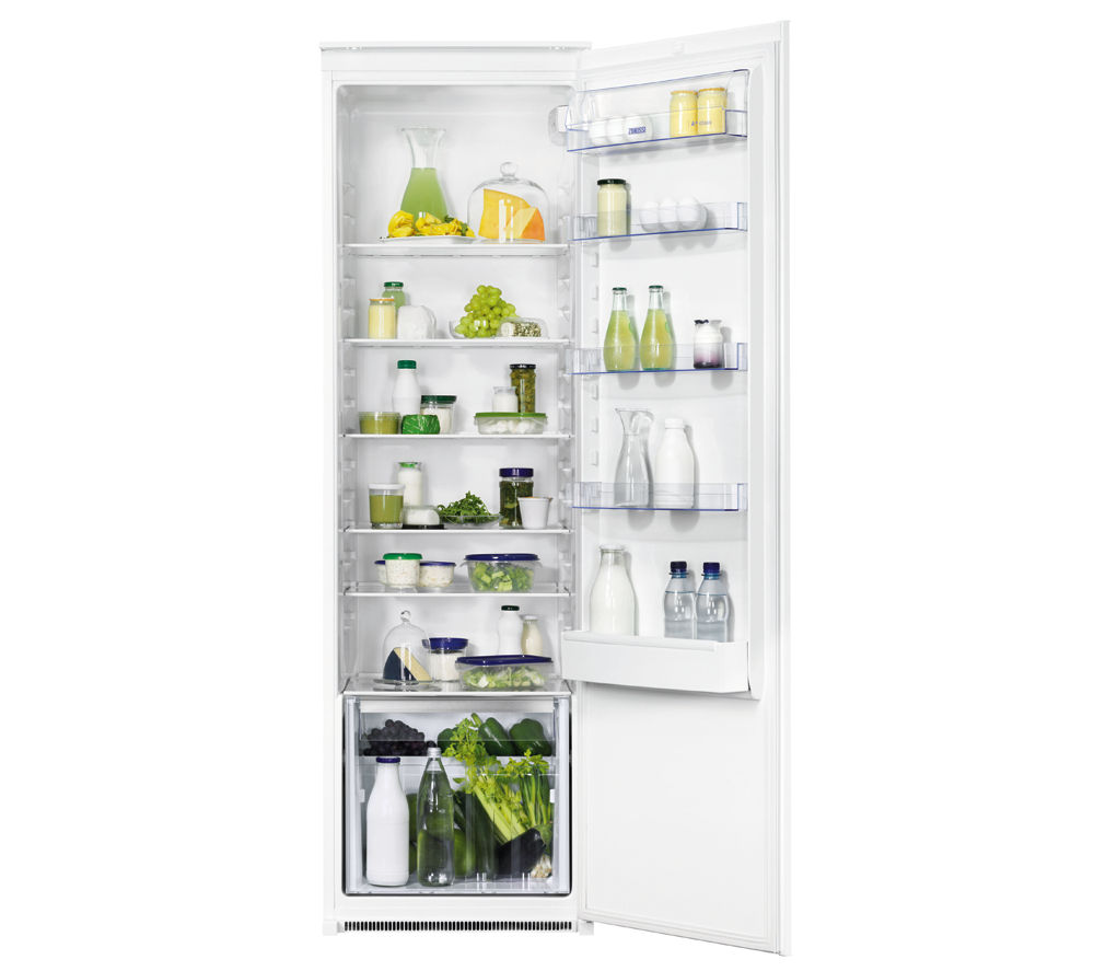 ZANUSSI  ZBA32050SA Integrated Tall Fridge  White White