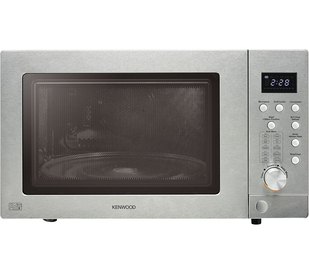 KENWOOD  K25CSE16 Combination Microwave  Silver Silver