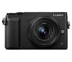 PANASONIC DMC-GX80KEBK Compact System Camera with 12-32 mm f/3.5-5.6 Wide-angle Zoom Lens