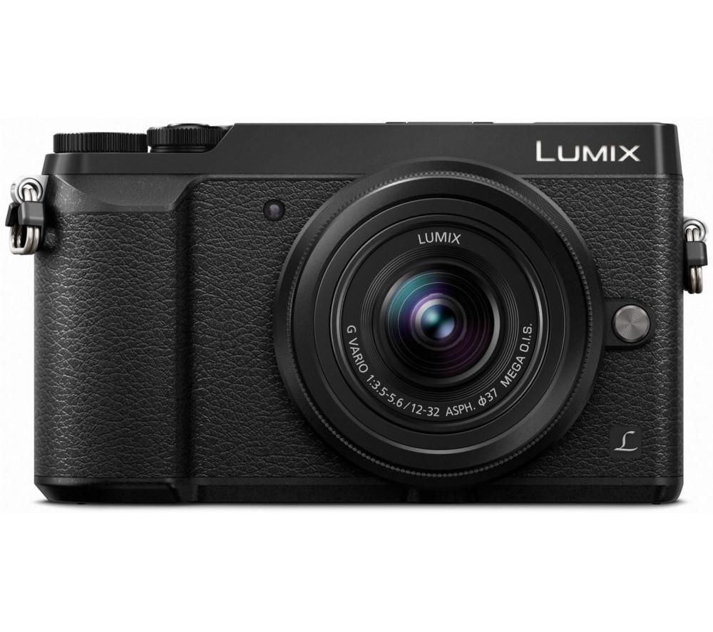 PANASONIC DMC-GX80EB-K Mirrorless Camera with 12-32 mm f/3.5-5.6 Lens - Black