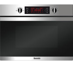 BAUMATIC BMC450SS Built-in Combination Microwave - Stainless Steel