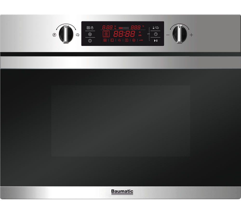 BAUMATIC  BMC450SS Builtin Combination Microwave  Stainless Steel Stainless Steel