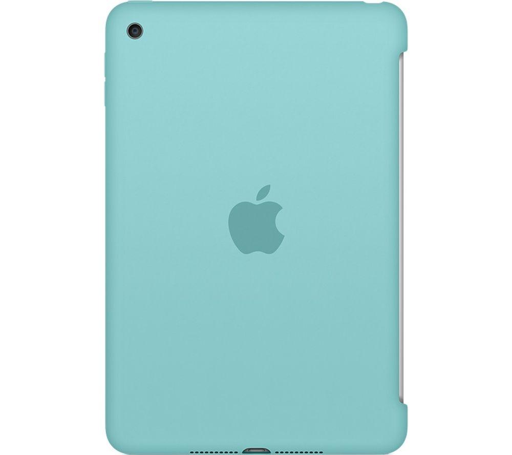 APPLE Silicone iPad Mini 4 Cover - Sea Blue