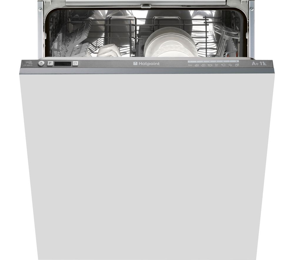 HOTPOINT  LTF 8B019 Fullsize Integrated Dishwasher