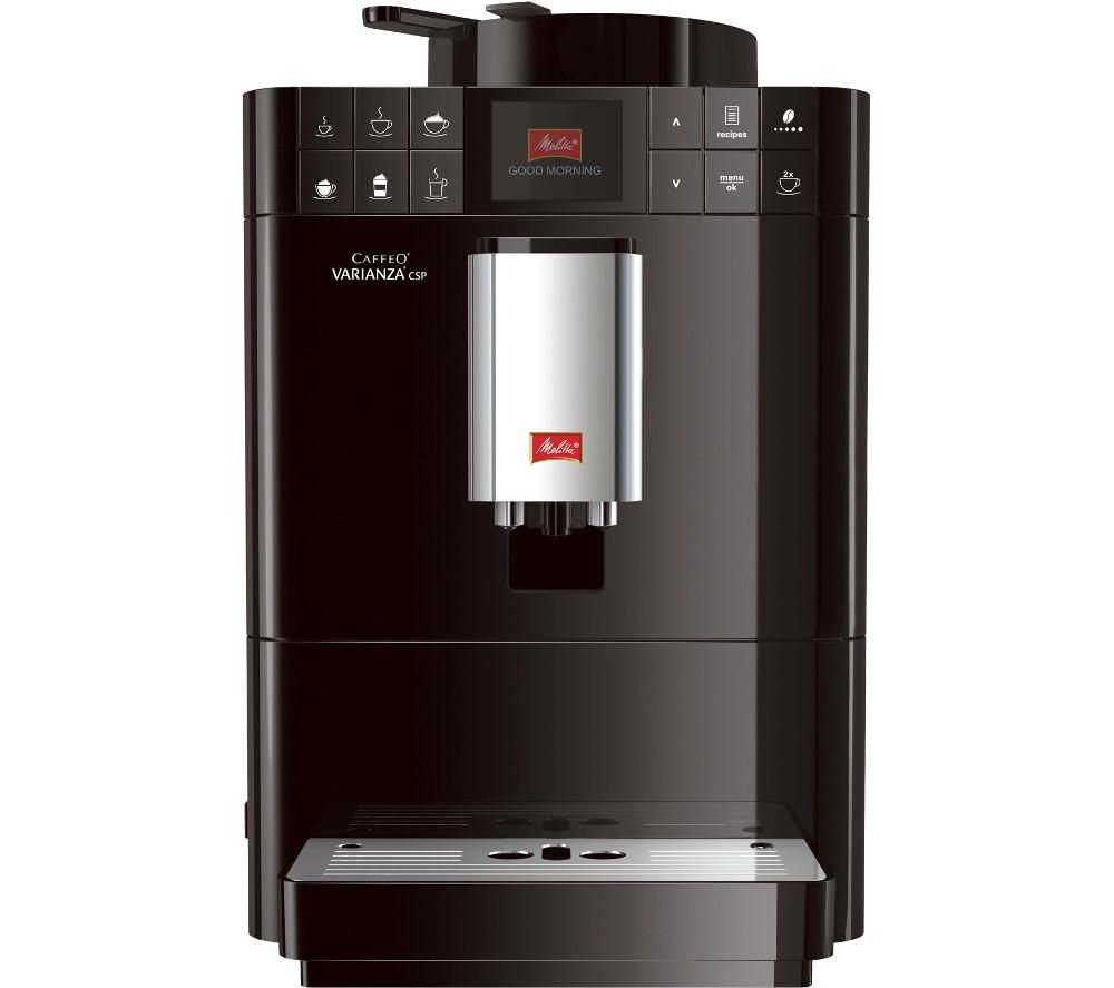 buy melitta caffeo varianza csp f57 0 102 bean to cup coffee machine black free delivery. Black Bedroom Furniture Sets. Home Design Ideas