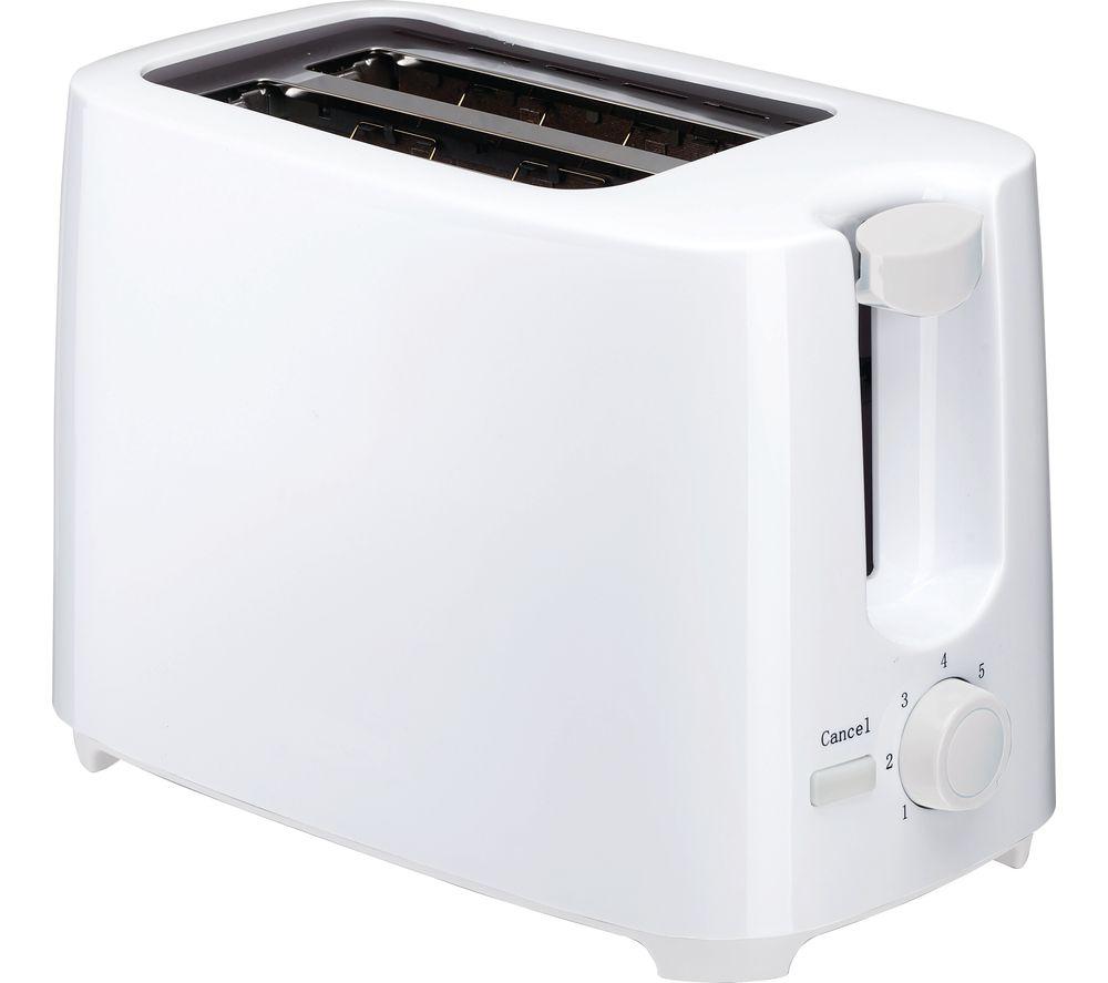 ESSENTIALS C02TW17 2-Slice Toaster - White
