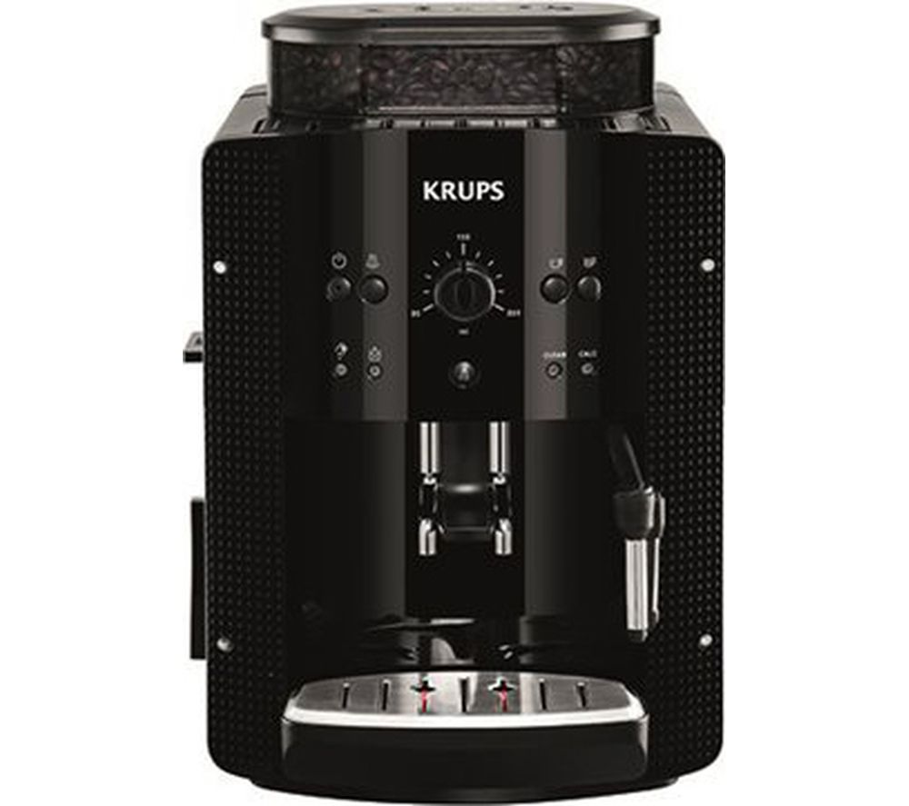 buy krups espresseria ea8108 bean to cup coffee machine black free delivery currys. Black Bedroom Furniture Sets. Home Design Ideas