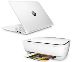 """HP 14-bp060sa 14"""" Laptop - White"""