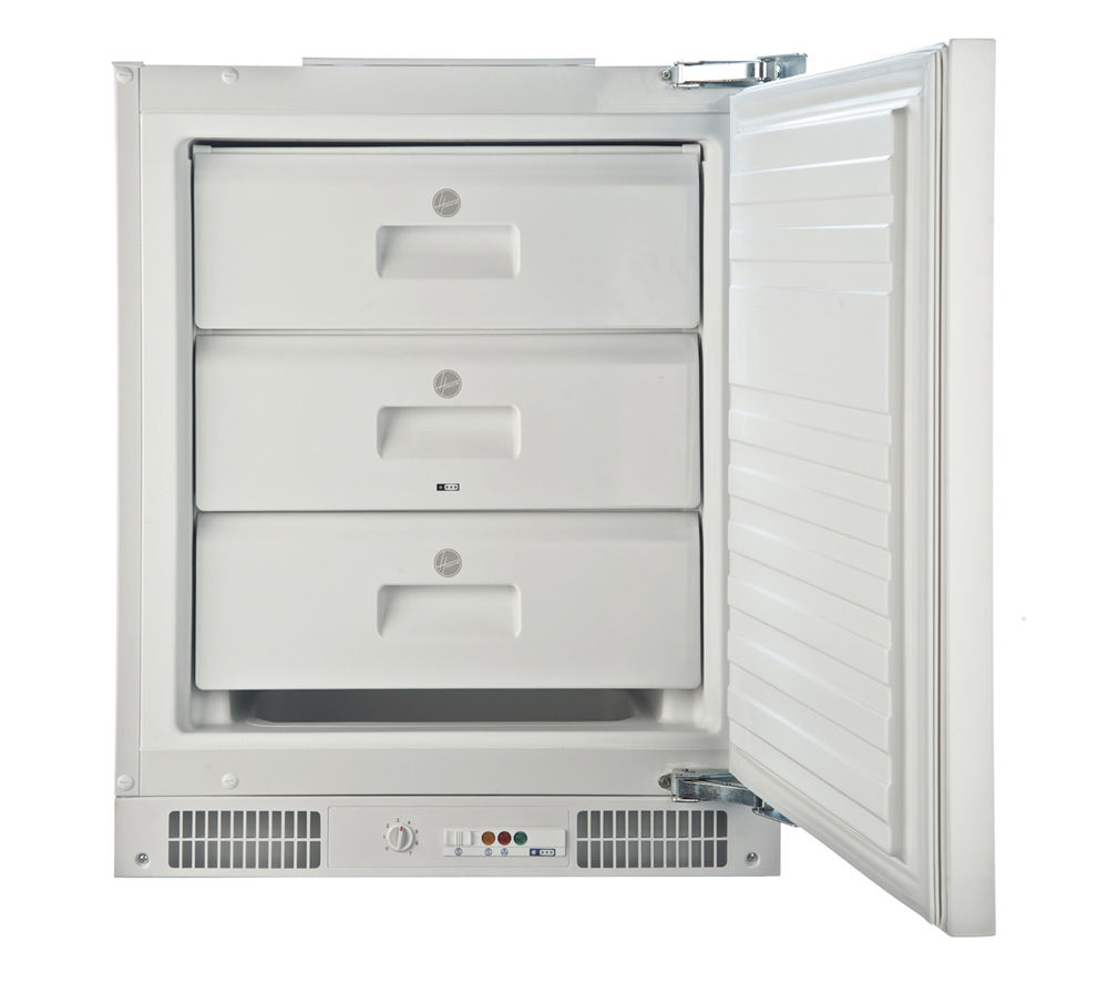 HOOVER  HBFUP130K Integrated Undercounter Freezer