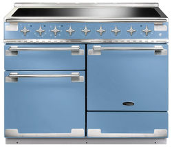 RANGEMASTER Elise 110 Electric Induction Range Cooker - China Blue & Chrome