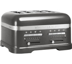 KITCHENAID 5KMT4205BMS Artisan 4-Slice Toaster - Silver