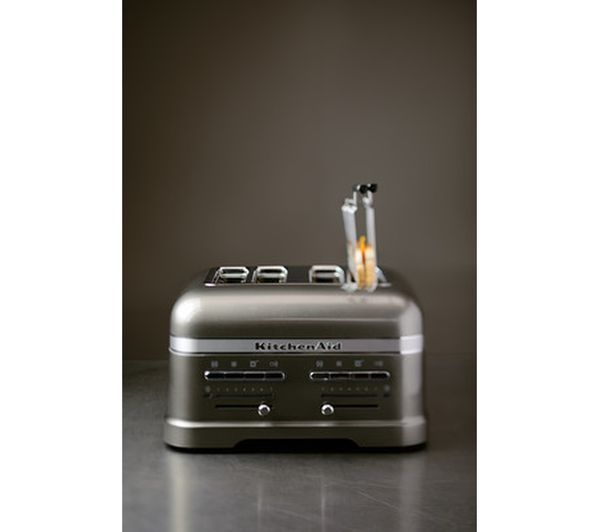 Buy Kitchenaid 5kmt4205bms Artisan 4 Slice Toaster