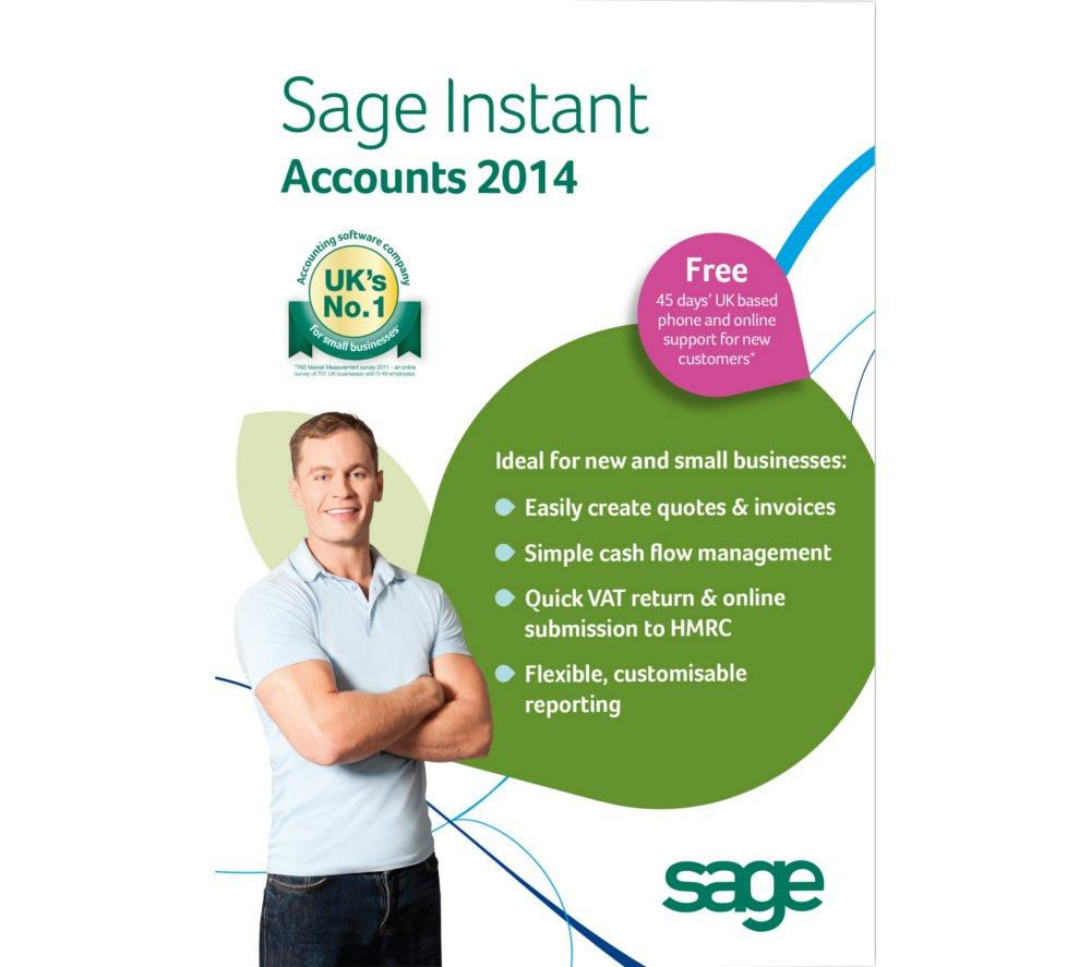 SAGE Instant Accounts 2014
