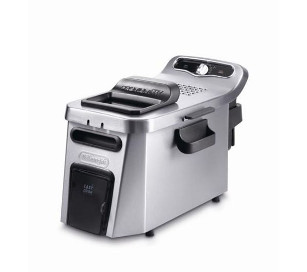 Delonghi F34512 Coolzone Deep Fryer   Stainless Steel, Stainless Steel