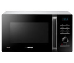 SAMSUNG MS23H3125AW Solo Microwave - Black & White