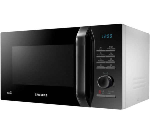 Buy Samsung Ms23h3125aw Solo Microwave Black Amp White