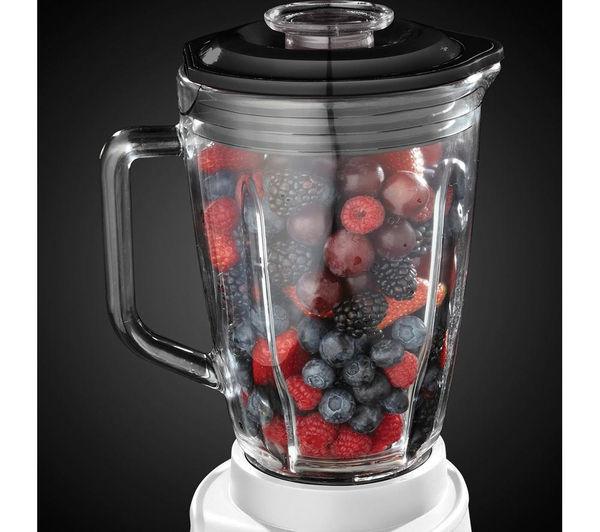 buy russell hobbs aura 18995 jug blender white free. Black Bedroom Furniture Sets. Home Design Ideas