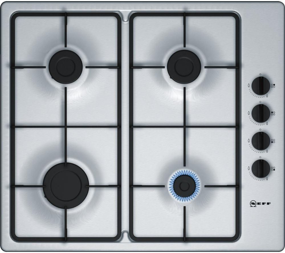 Buy NEFF T26BR46N0 Gas Hob  Stainless Steel  Free Delivery  Currys
