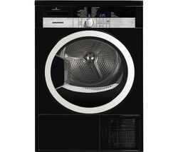 Grunding GTN38250HGCB Heat Pump Tumble Dryer (Black)