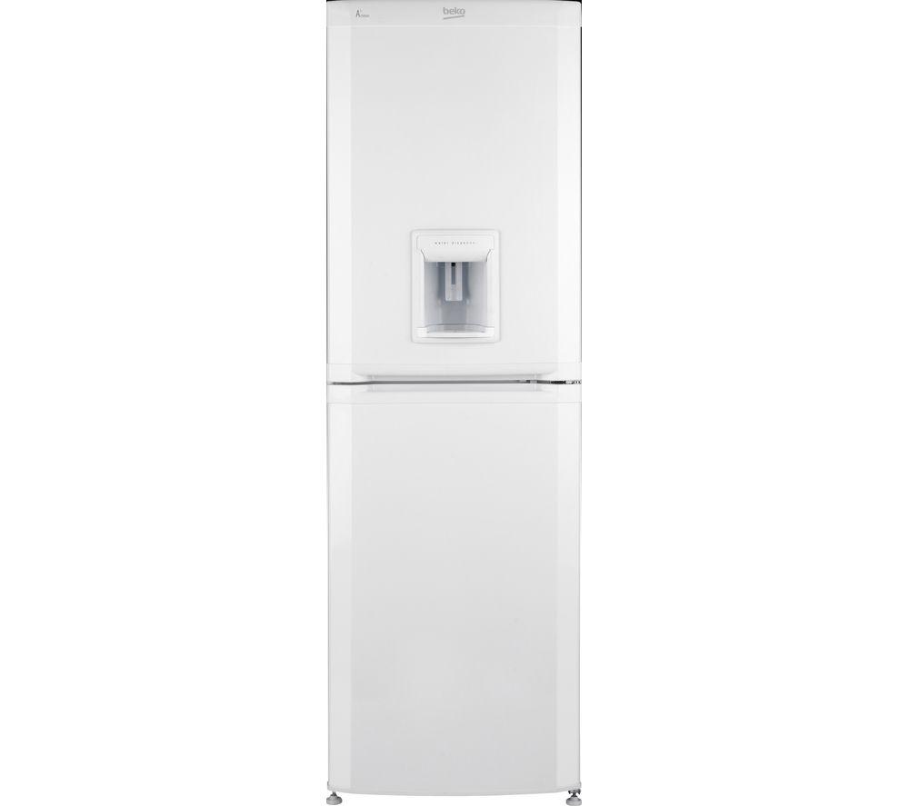 BEKO CSD5824W Fridge Freezer - White