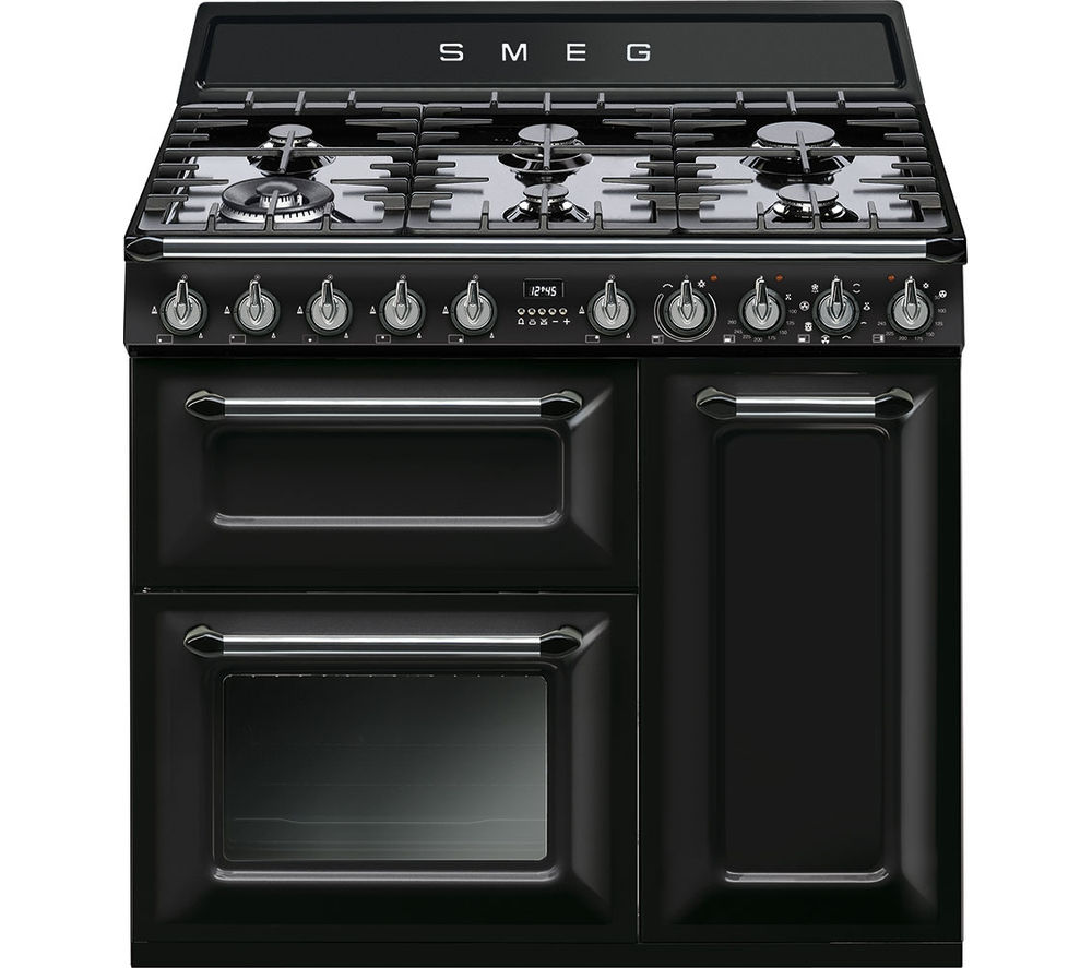 Buy Smeg Victoria Tr93bl 90 Cm Dual Fuel Range Cooker Interiors Inside Ideas Interiors design about Everything [magnanprojects.com]