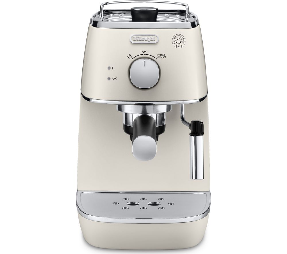 delonghi distinta eci341w coffee machine white - Delonghi Espresso Machine