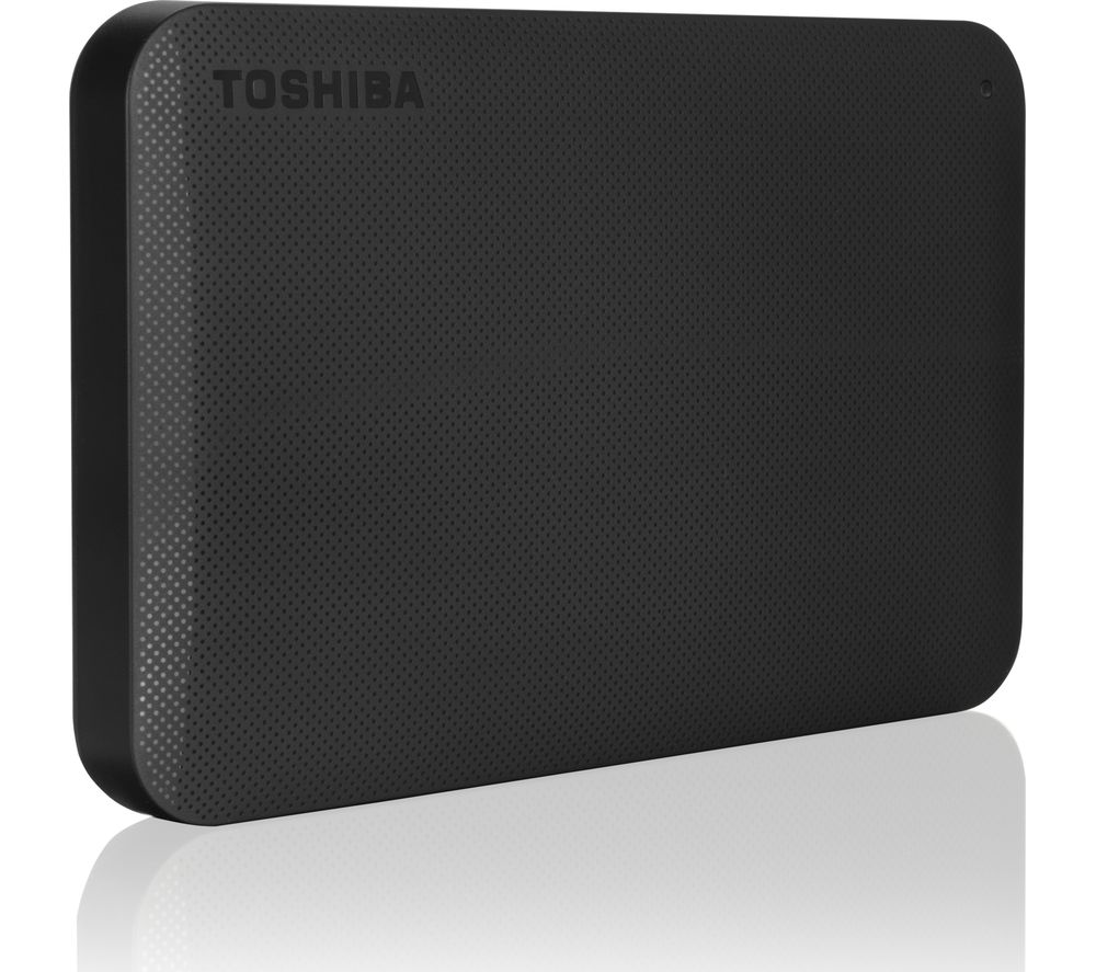 TOSHIBA Canvio Ready Portable Hard Drive - 1 TB, Black