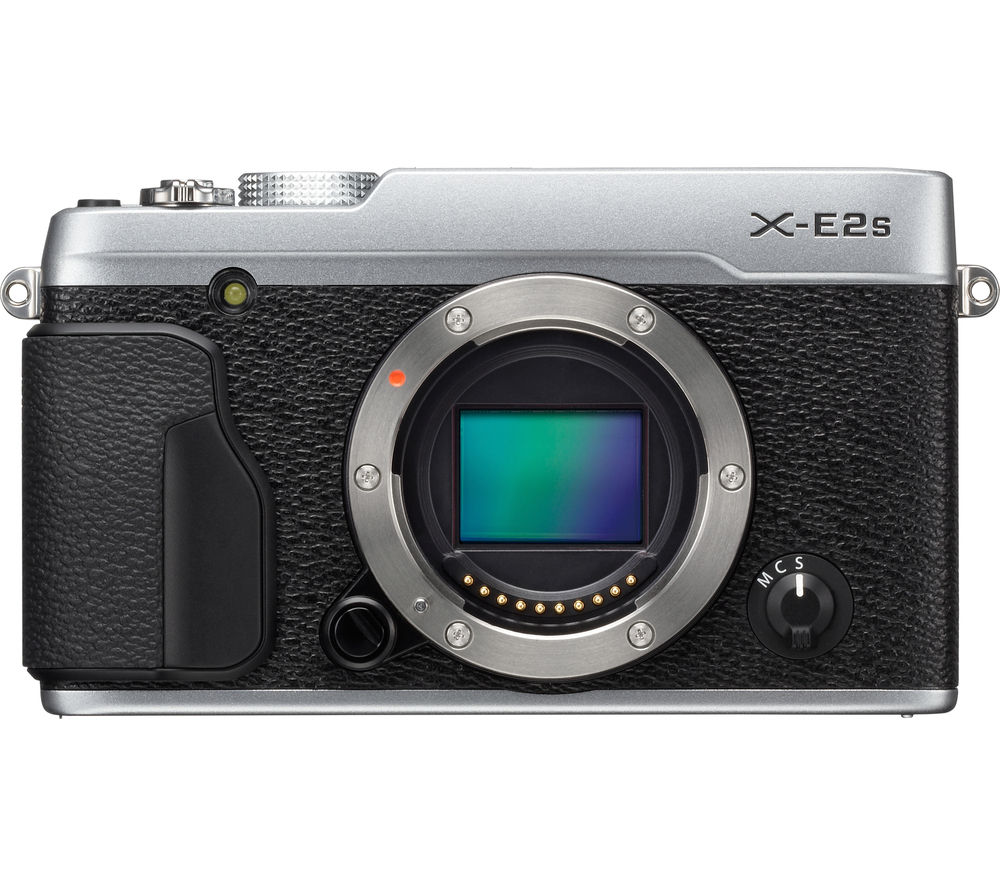 FUJIFILM X-E2S Mirrorless Camera - Silver, Body Only