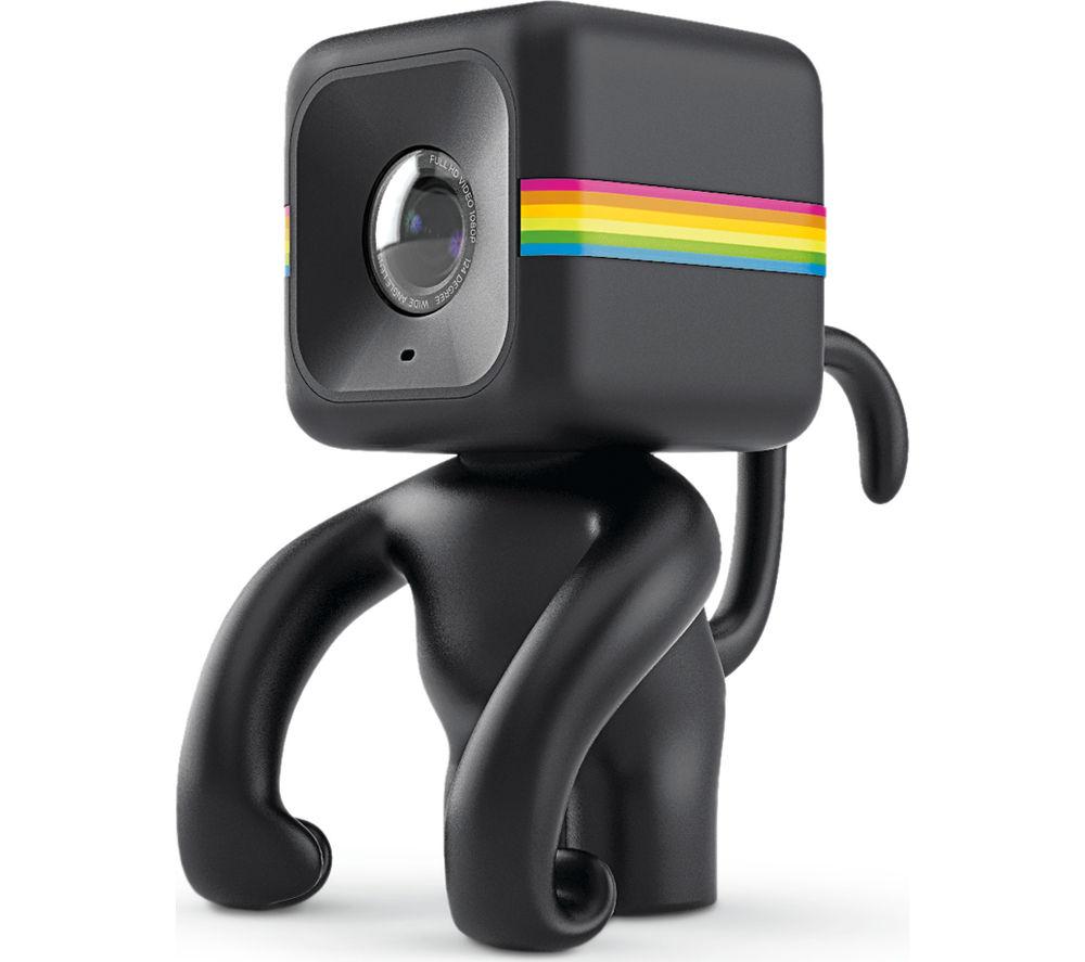 POLAROID Cube Monkey Stand - Black, Black