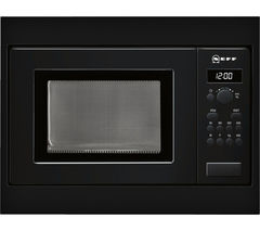NEFF H53W50S3GB Built-in Solo Microwave - Black
