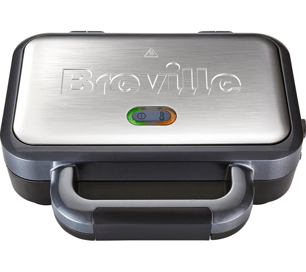 breville vst041 deep fill sandwich toaster graphite u0026 stainless steel