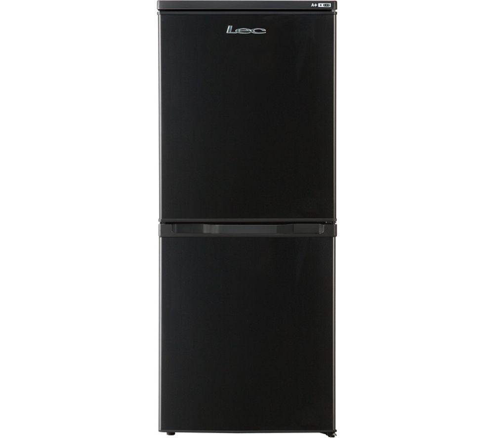 LEC  TF5517B Fridge Freezer  Black Black