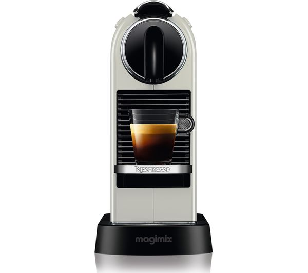 Buy NESPRESSO by Magimix CitiZ Coffee Machine - White Free Delivery Currys