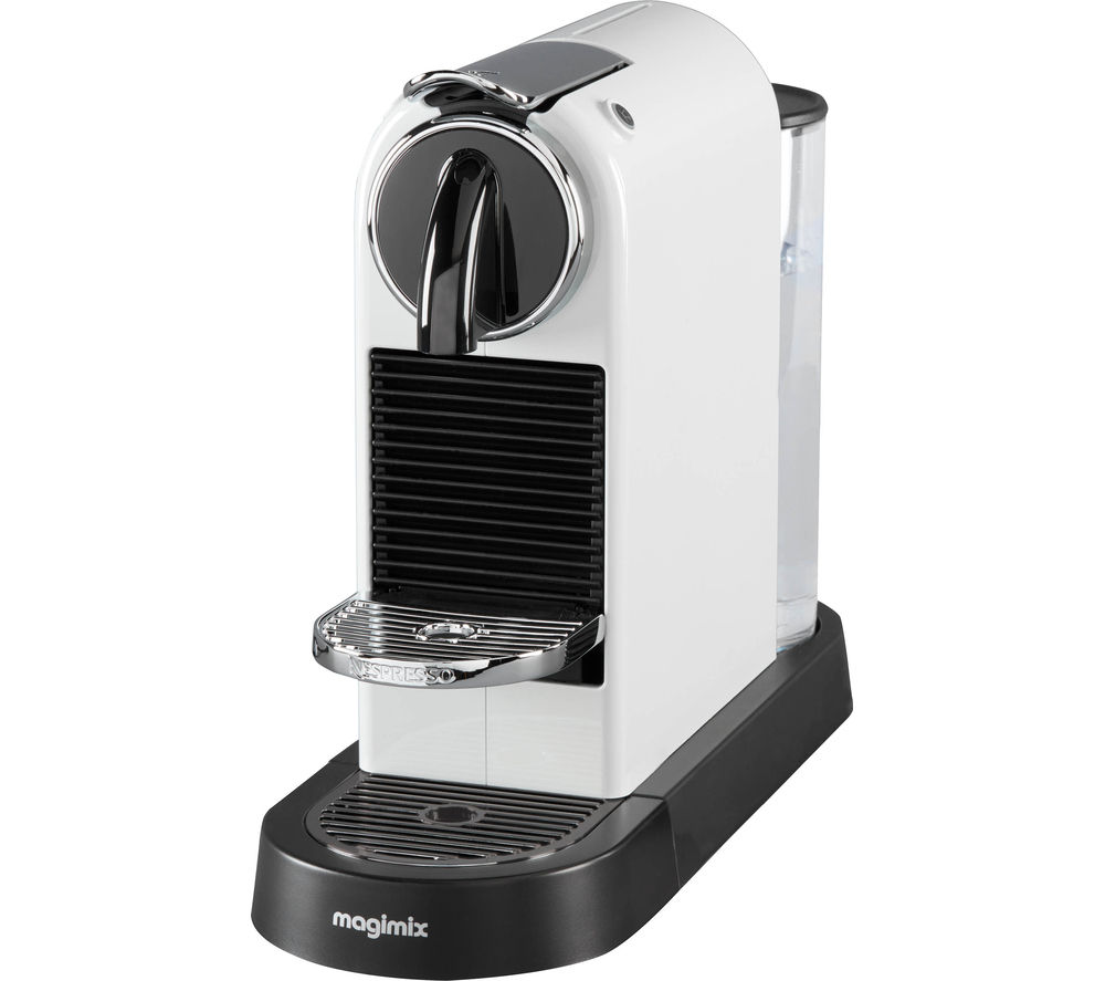 buy nespresso by magimix citiz coffee machine white free delivery currys. Black Bedroom Furniture Sets. Home Design Ideas