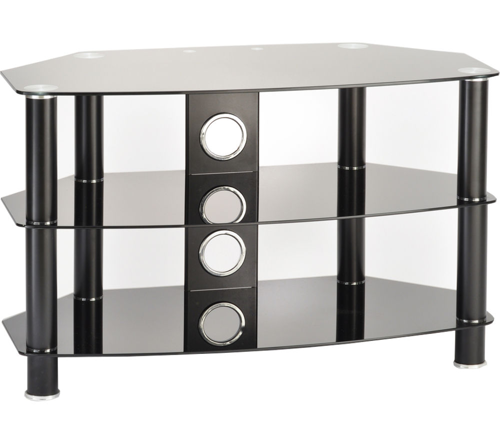 TTAP Vantage 600 TV Stand - Black