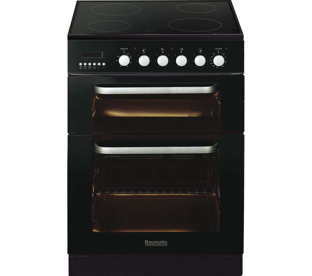 Image of BAUMATIC BCE625BL Electric Ceramic Cooker - Black, Black