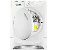 ZANUSSI ZDP7204PZ Condenser Tumble Dryer - White