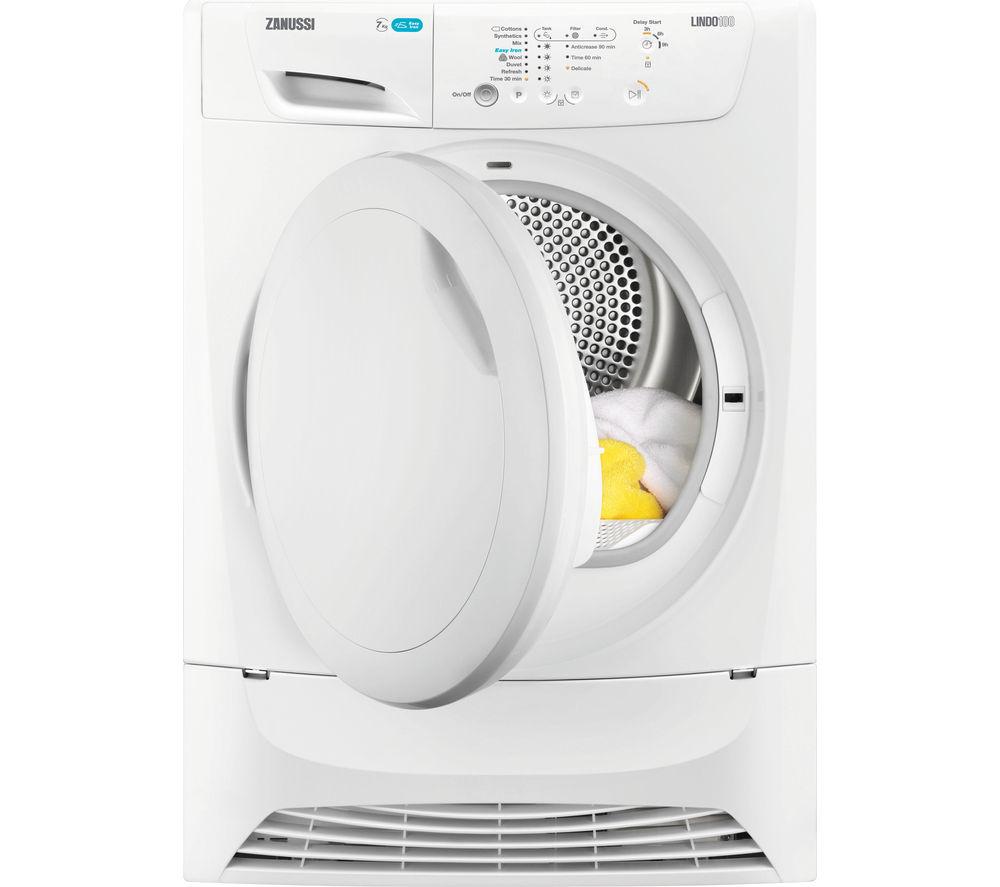 ZANUSSI  ZDP7204PZ Condenser Tumble Dryer  White White