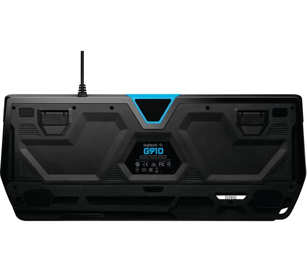 logitech g910 orion spectrum rgb mechanical gaming keyboard deals pc world. Black Bedroom Furniture Sets. Home Design Ideas