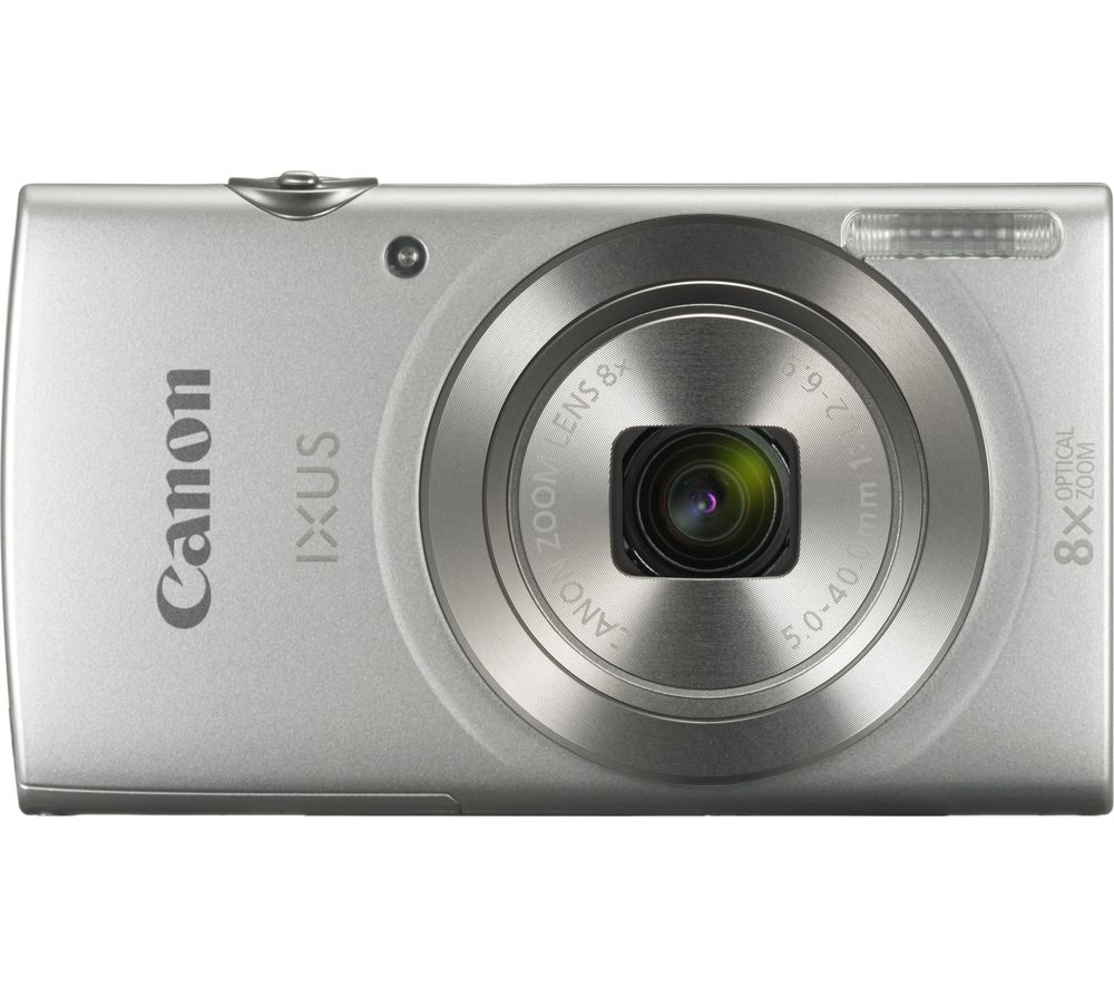 Buy canon ixus compact camera silver free delivery