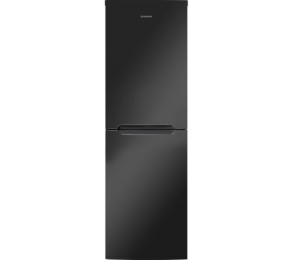buy hoover hcn6182bk 50 50 fridge freezer black free. Black Bedroom Furniture Sets. Home Design Ideas