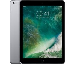 "APPLE 9.7"" iPad Cellular - 128 GB, Space Grey"