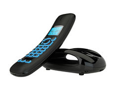 IDECT 1041251 Carrera Solo Plus Cordless Phone with Answering Machine