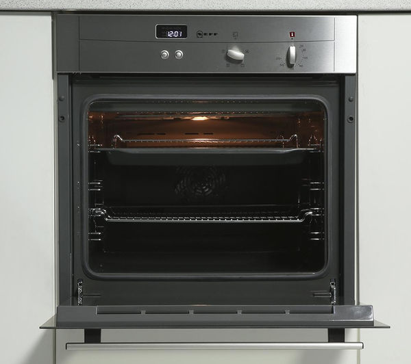 Buy Neff B12s32n3gb Electric Oven Stainless Steel Free