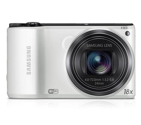 samsung galaxy smart wifi 3g compact digital camera - white