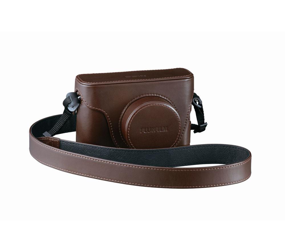 FUJIFILM X100S Genuine Leather Camera Case - Brown