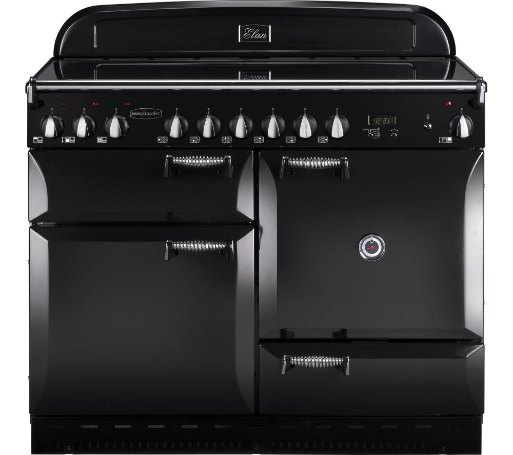 RANGEMASTER  Elan 110 Electric Ceramic Range Cooker  Black Black