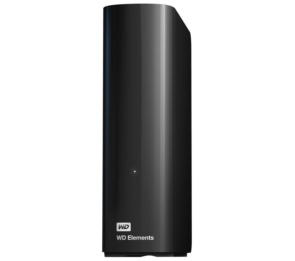 WD Elements External Hard Drive - 3 TB, Black
